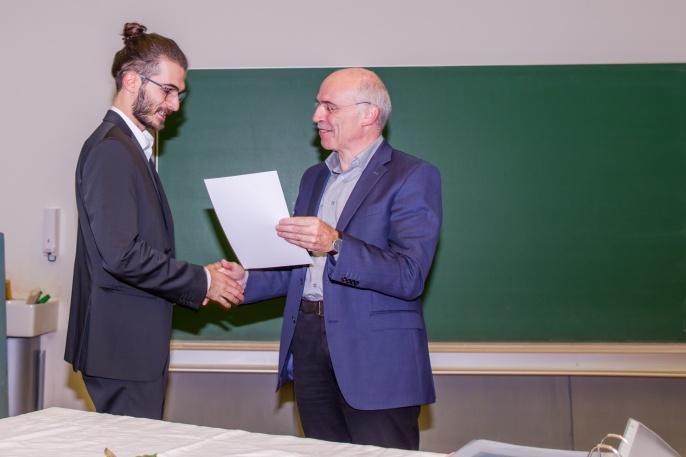 Urkundenübergabe Bachelor Materialwissenschaft 2