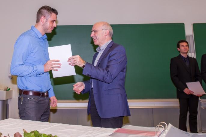 Urkundenübergabe Bachelor Materialwissenschaft 4