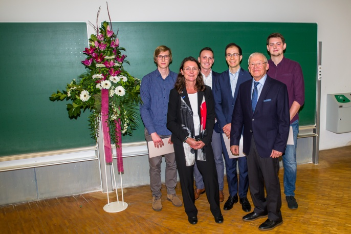 Artur-Fischer Preisträger der akademischen Jahre 2018 und 2019